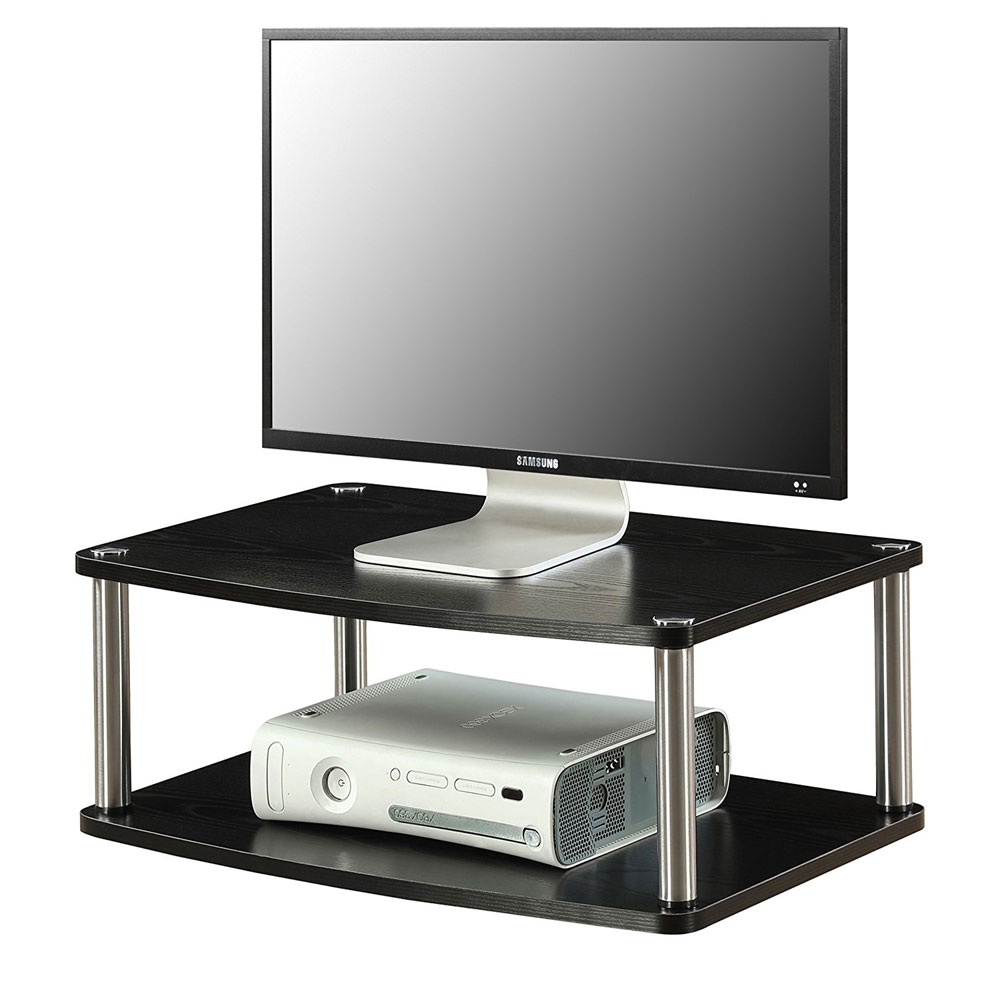 2 Tier Swivel Tv Stand In Tv Stands