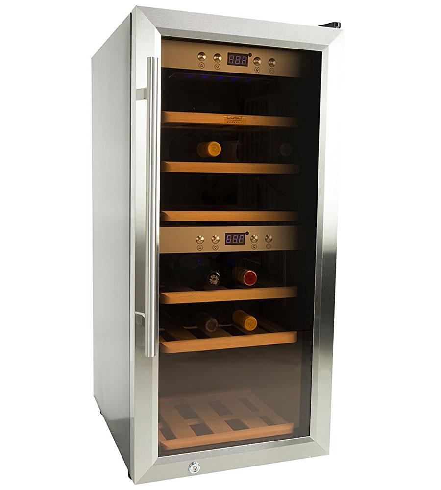 24 Bottle Caso Wine Refrigerator In Wine Coolers