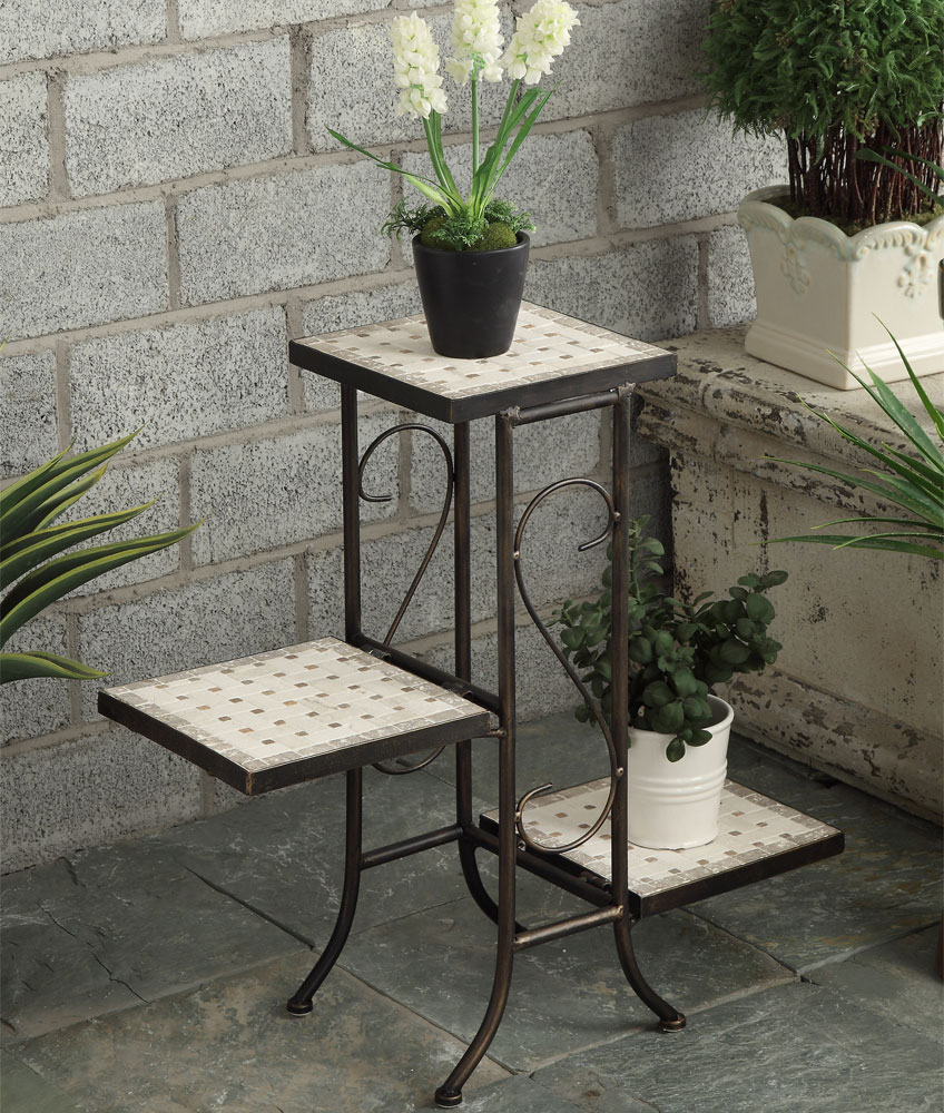 3 tier plant stand in indoor plant stands Plant stands for indoors