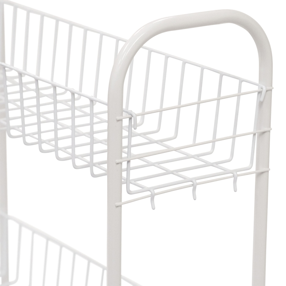 3 Tier Slim Laundry Cart In Laundry Carts
