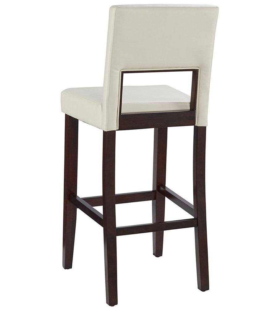 White In Wood Bar Stools