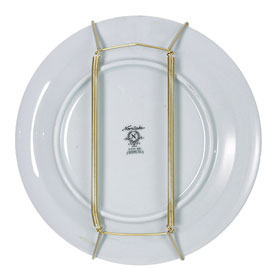 Click any image to view in high resolution  sc 1 st  Organize-It & Plate Display Hanger - 14 to 20 Inch in Decorative Plate Racks