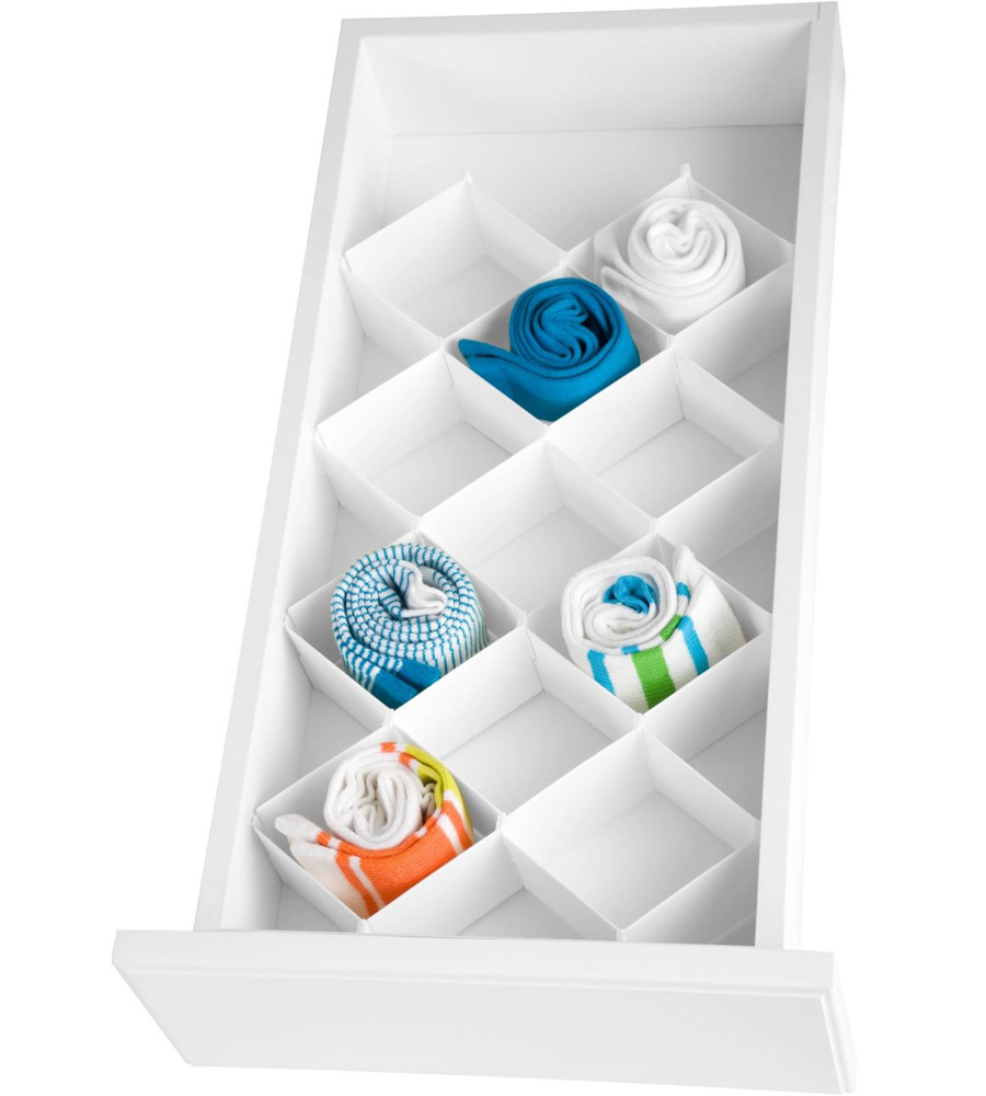 32 Compartment Drawer Organizer By Honey Can Do In Closet