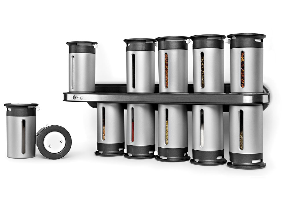 Magnetic Mountable Spice Rack Image. Click Any Image To View In High  Resolution