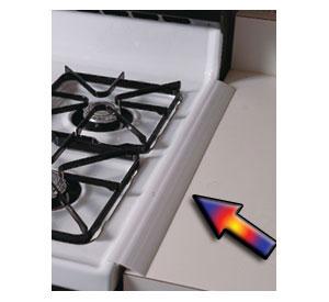 Stove Countertop Gap Cover Walmart : ... Seam Silicone Gap Eliminator - Translucent in Stove Top Accessories