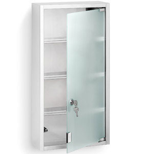 stainless steel locking medicine cabinet in bathroom medicine cabinets