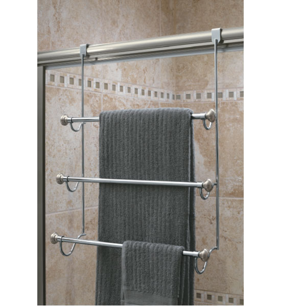 . InterDesign Over the Door Towel Rack in Over the Door Towel Racks