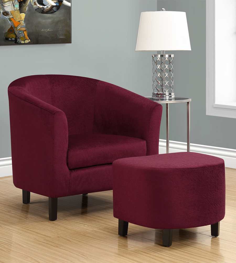 Accent Chair With Ottoman In Accent Chairs