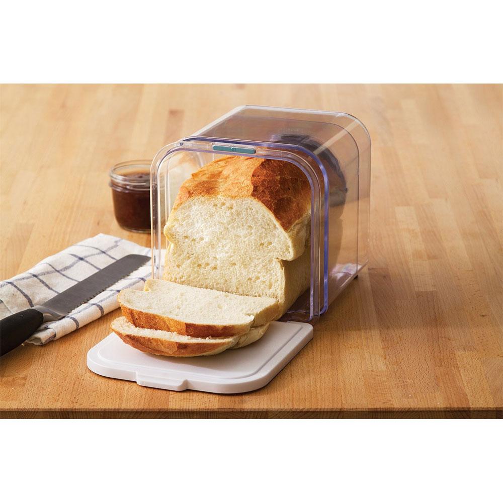 Amazon.com: Norpro Bread Slicer with Crumb Catcher ...