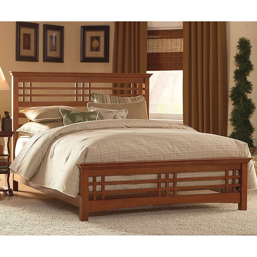 Wooden Bed: Avery Wood Bed Frame In Beds And Headboards