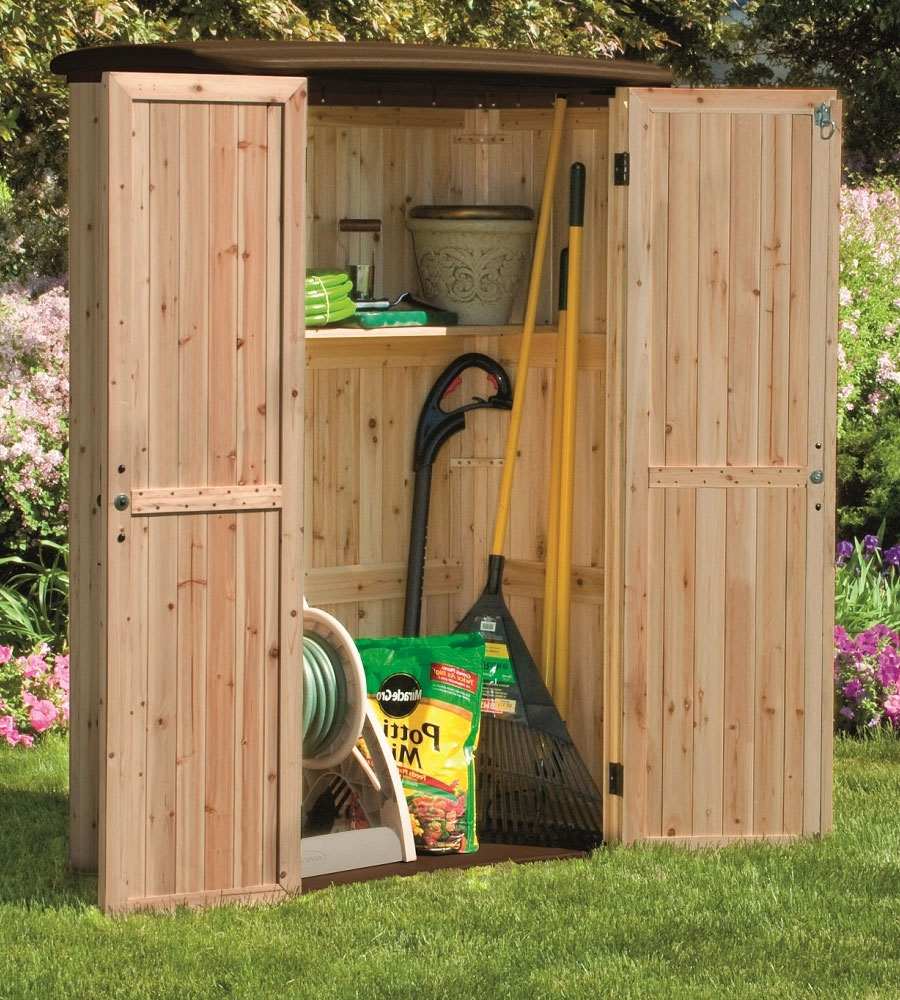 Backyard Tool Shed Image. Click Any Image To View In High Resolution