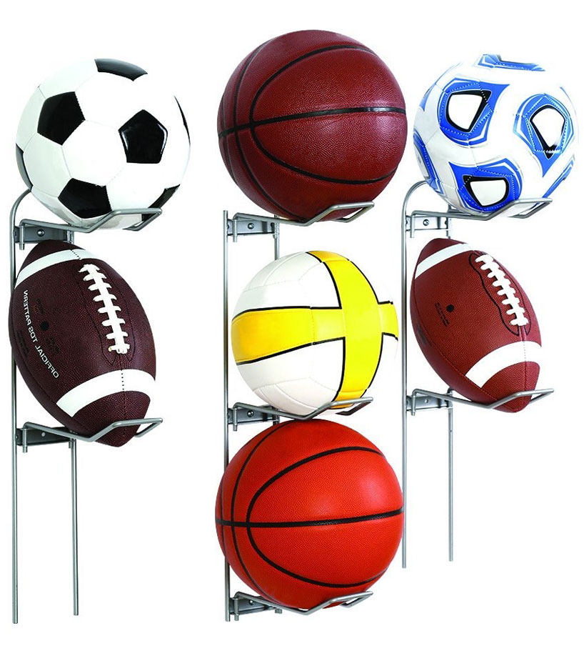 Captivating Ball Storage Rack Image. Click Any Image To View In High Resolution
