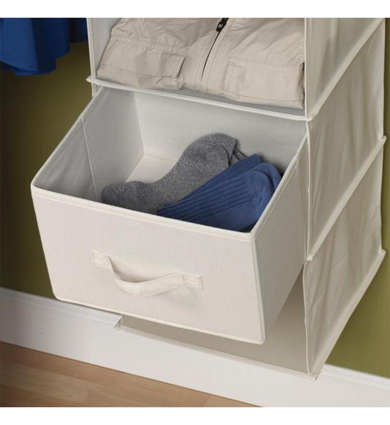 organizer canvas closet hanging portable storage collapsible wardrobe colorful bedroom clothes rail cloth boxes bins double
