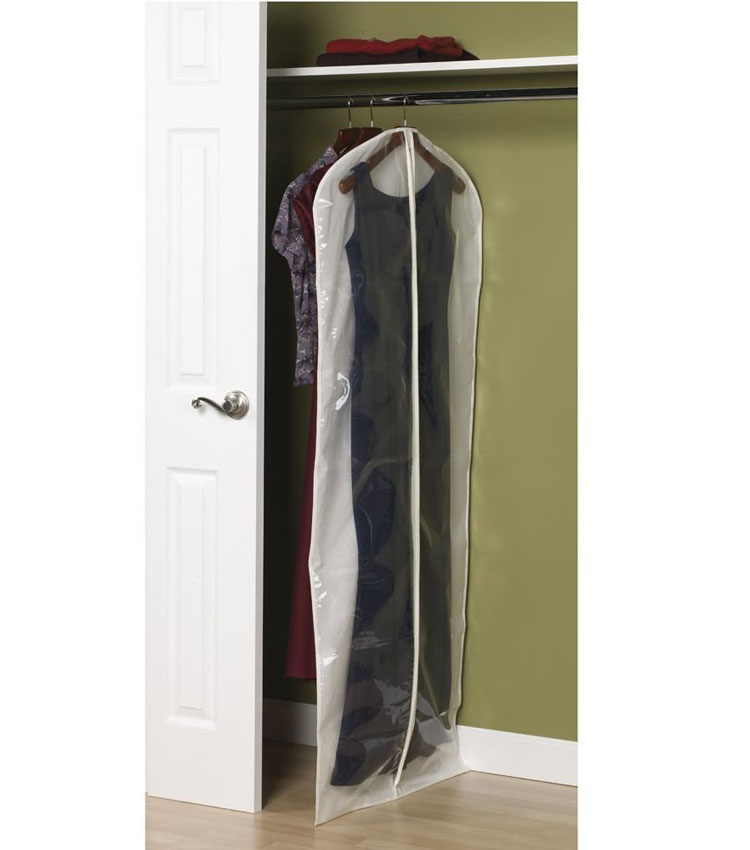 Canvas Gown Bag In Garment Bags