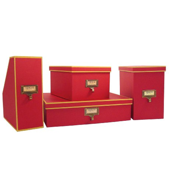 Cargo Atheneum File Storage Box   Red Image. Click Any Image To View In  High Resolution