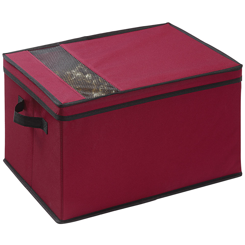 Christmas storage box in ornament storage boxes for Xmas decoration storage boxes