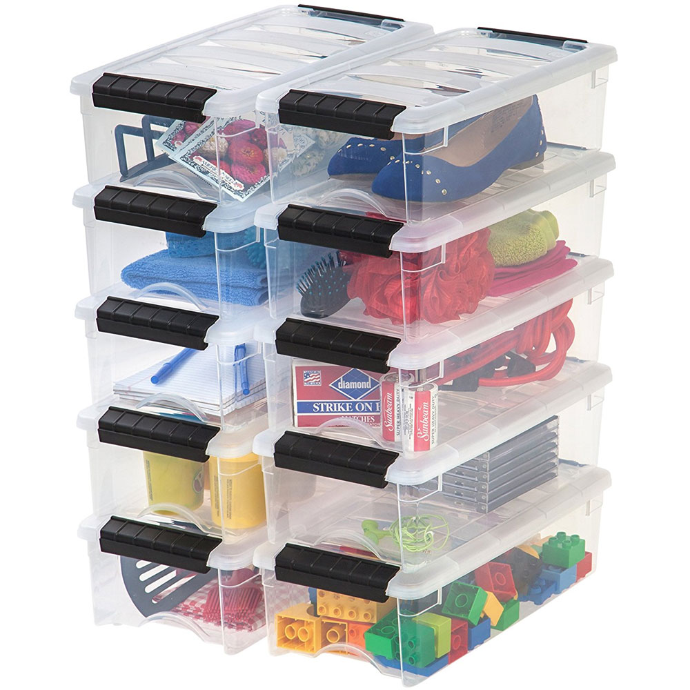 Clear Plastic Storage Box   Extra Small Image. Click Any Image To View In  High Resolution