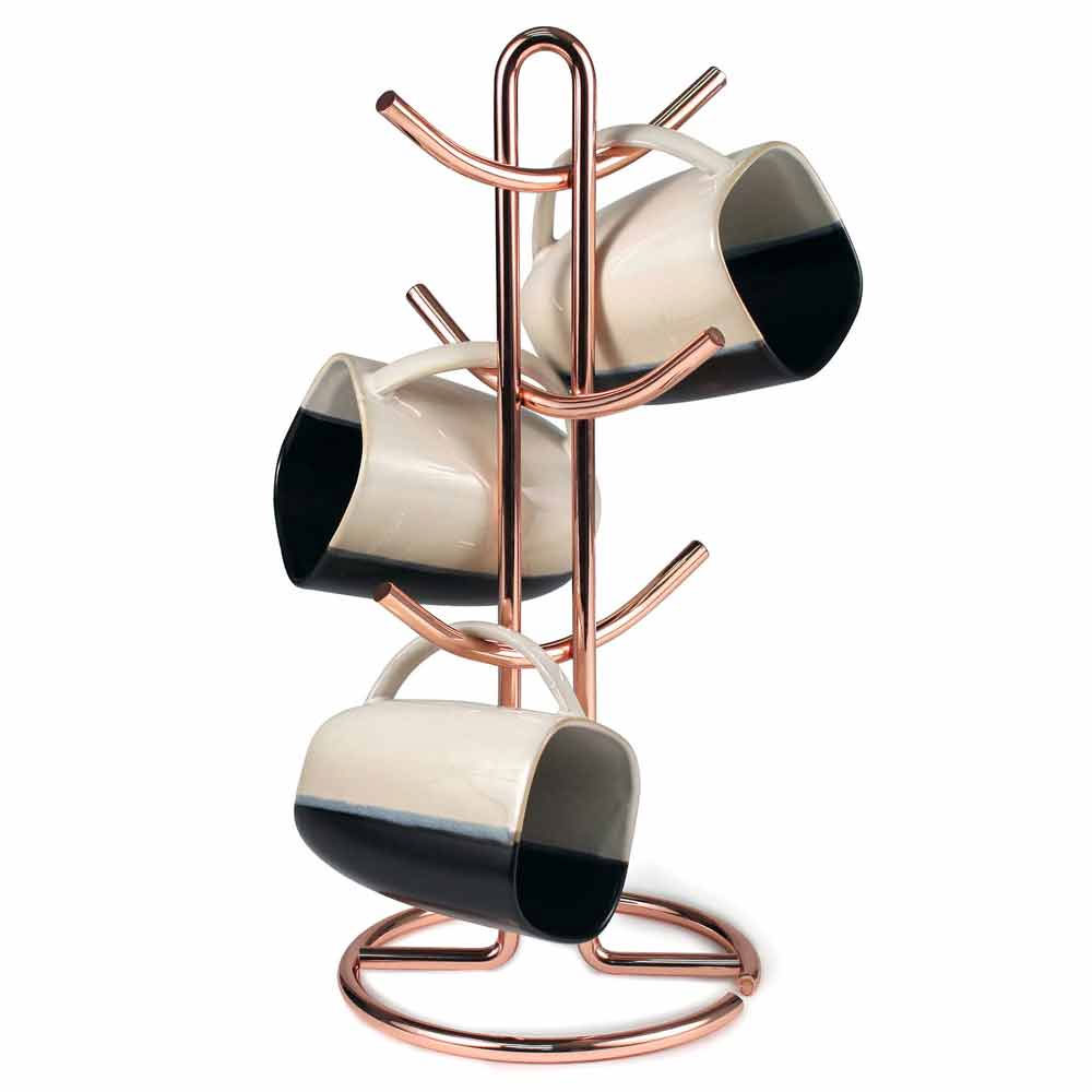 Coffee Cup Holder Copper In Coffee Mug Holders