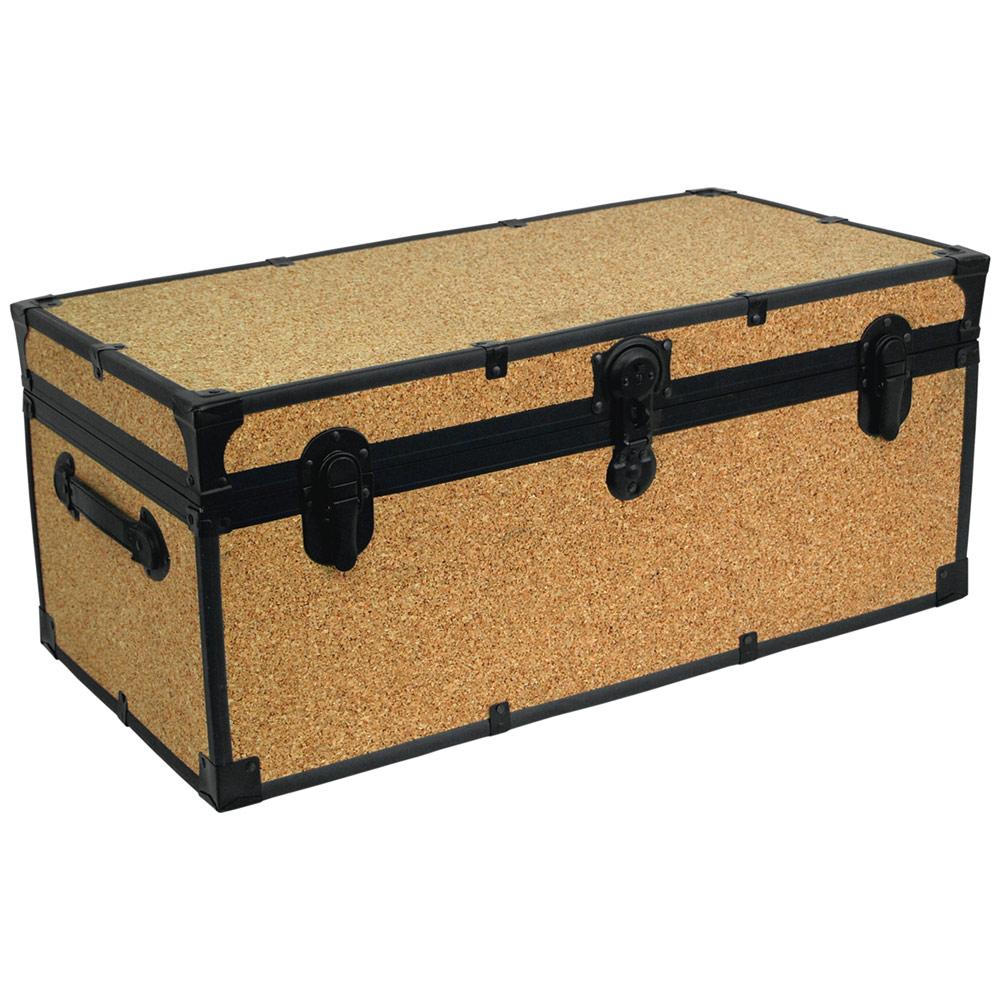 Cork storage trunk in storage trunks - Footlockers storage ...