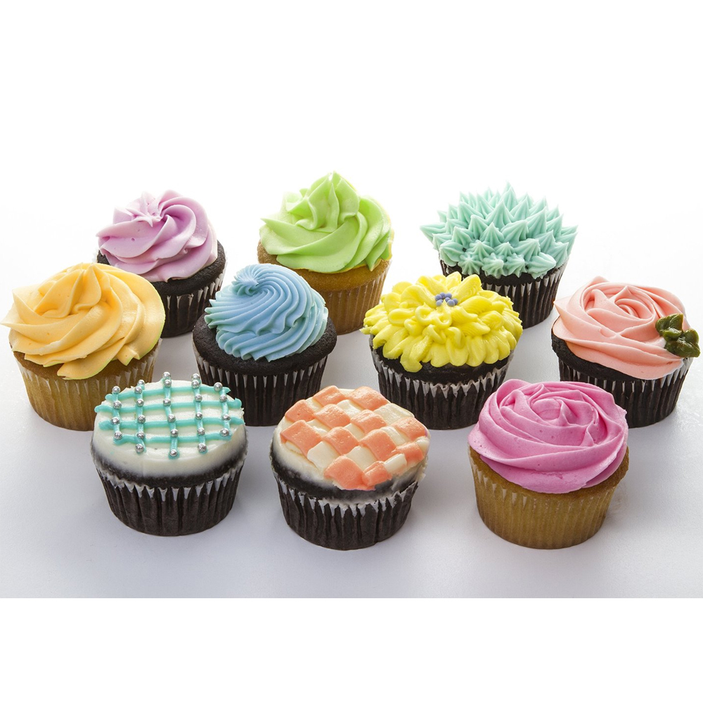 Cupcake accessories wilton bright standard cupcake liners 300 count for Kitchen accessories cupcake design