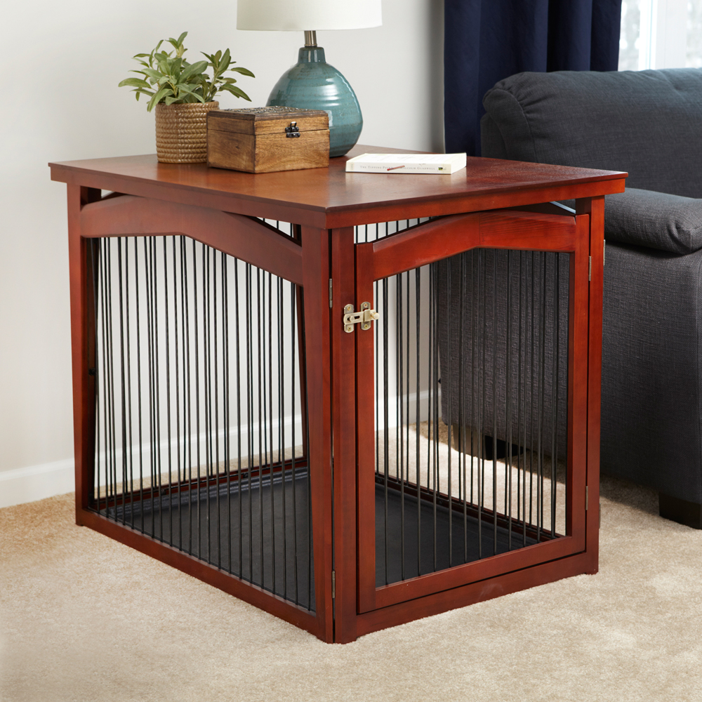 Dog Crate Table Pet Gate In Pet Pens
