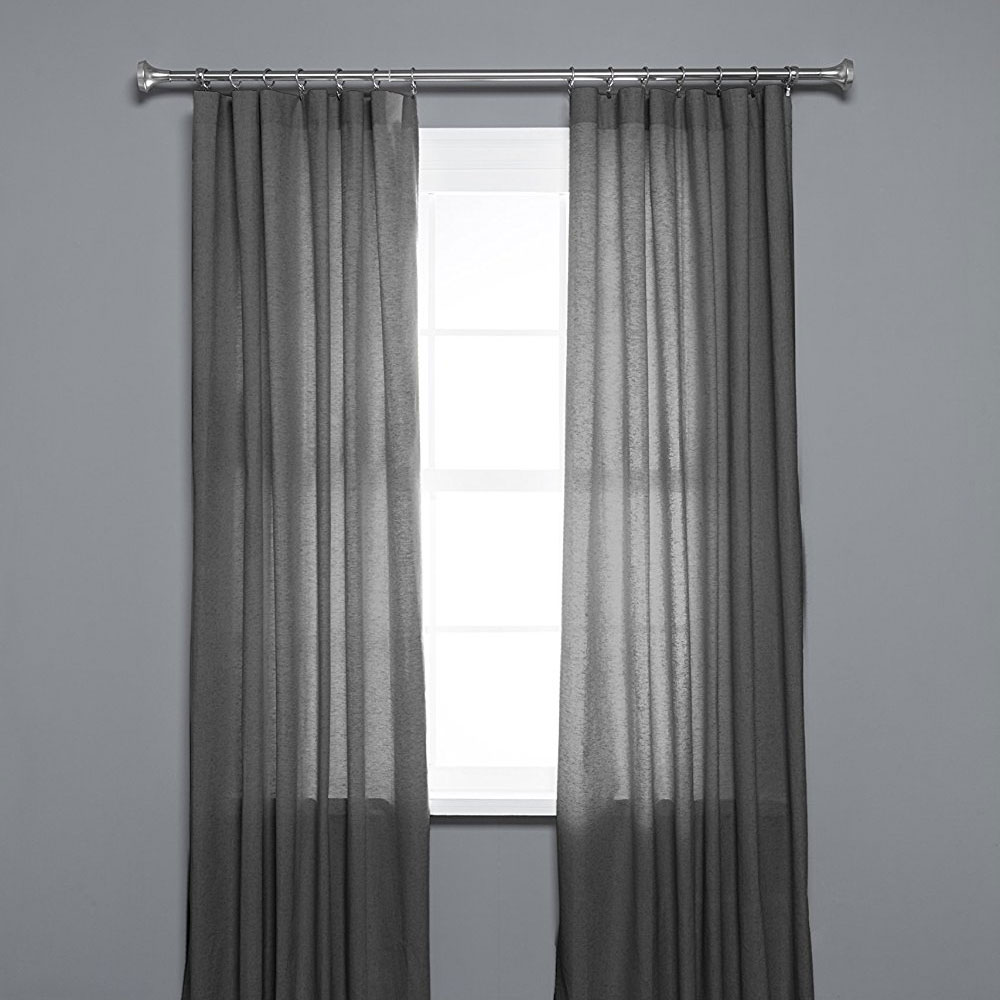 Expandable Curtain Rod In Curtain Rods And Hardware