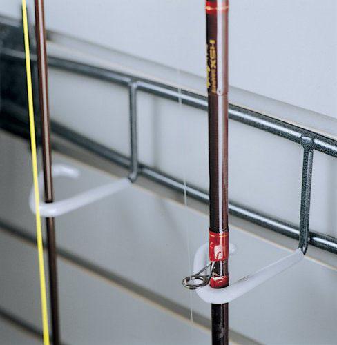 Fishing Rod And Reel Storage Rack In Garage Grid Accessories