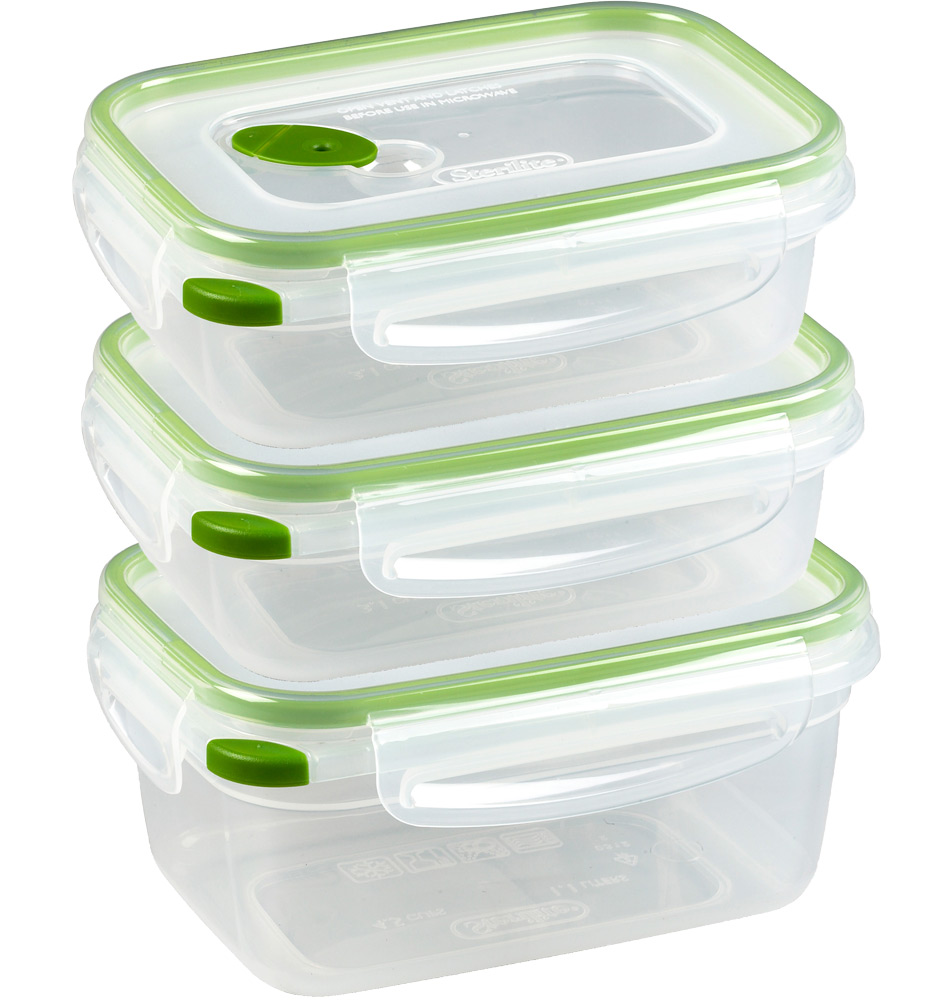 Food Storage Containers With Lids Set Of 20 In Plastic