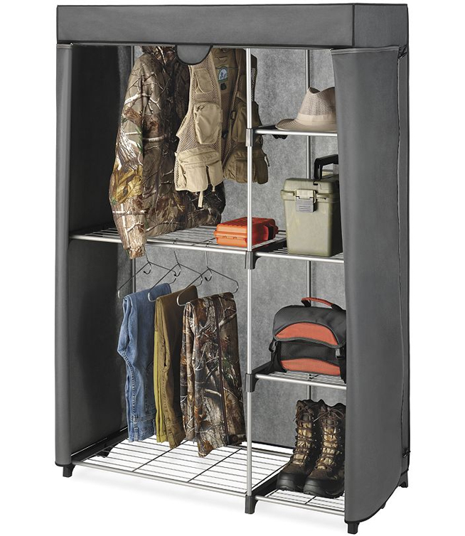 free standing closet organizer in clothing racks and wardrobes. Black Bedroom Furniture Sets. Home Design Ideas