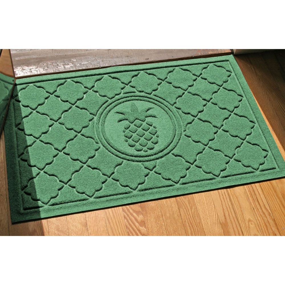 front door mat pineapple in doormats. Black Bedroom Furniture Sets. Home Design Ideas