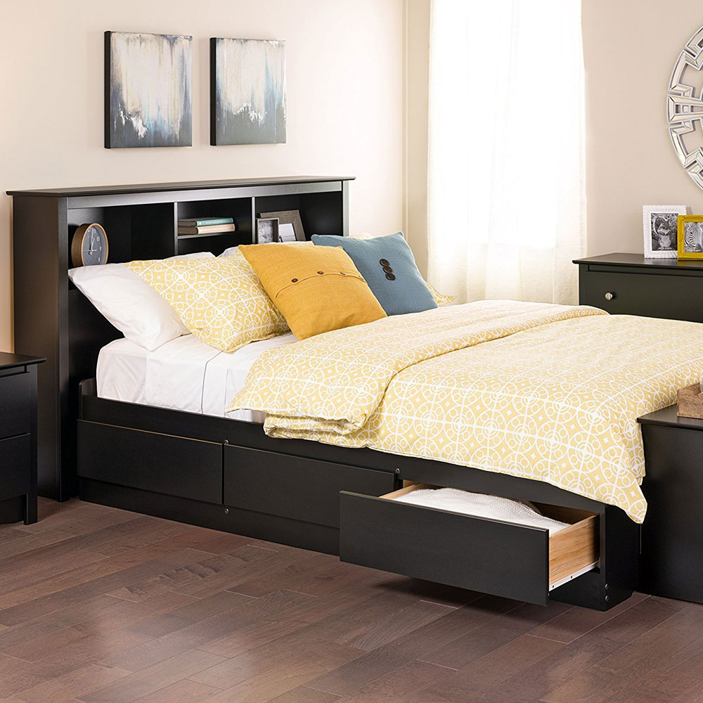 Simply excellent Full size platform bed with storage