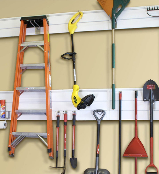 Garage Organization System - Proslat - 4 x 4 in Proslat Garage Storage