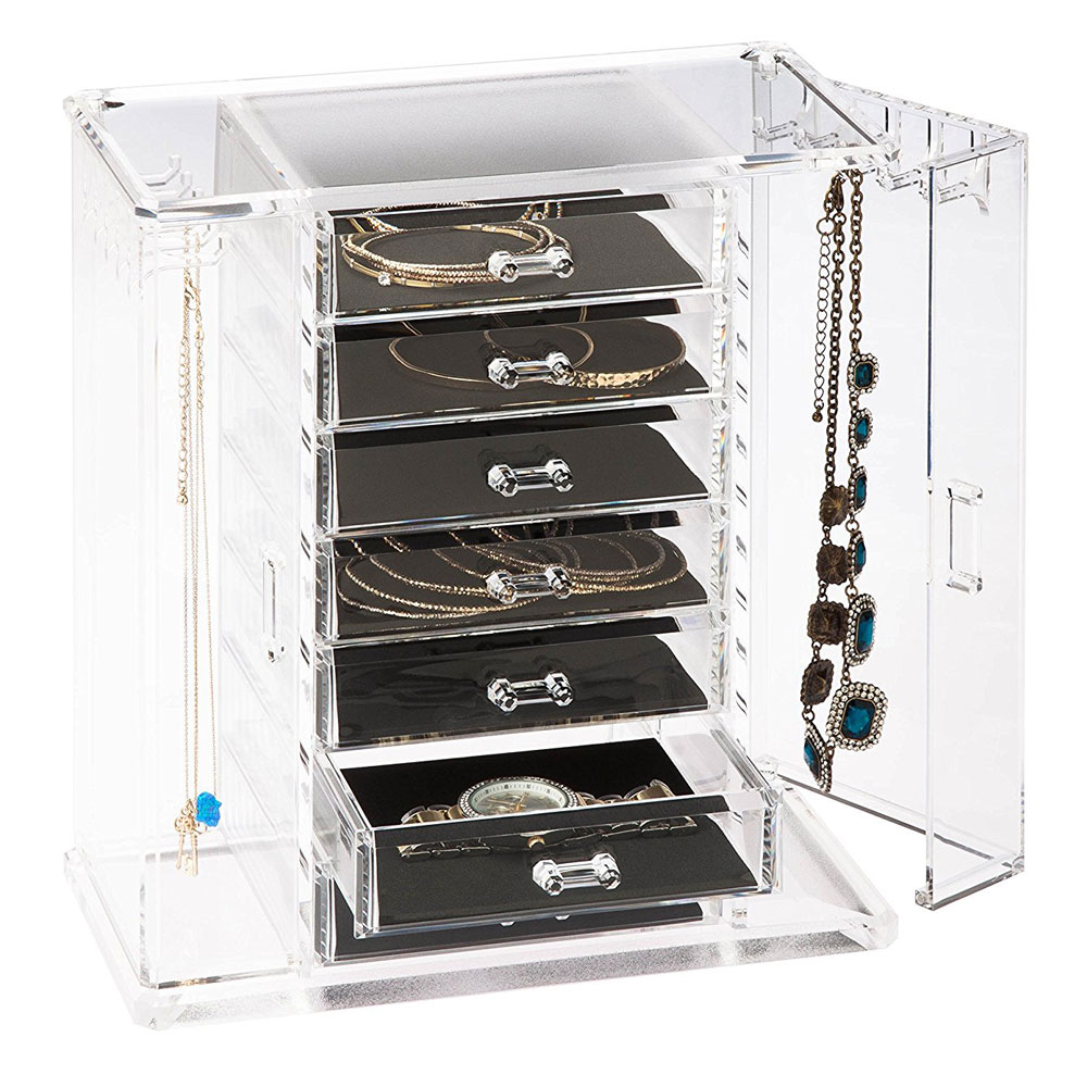 Jewelry Storage Organizer in Jewelry Boxes and Organizers