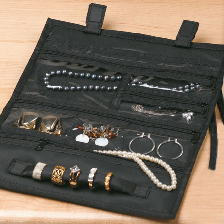 Travel Jewelry Organizer in Travel Jewelry Cases