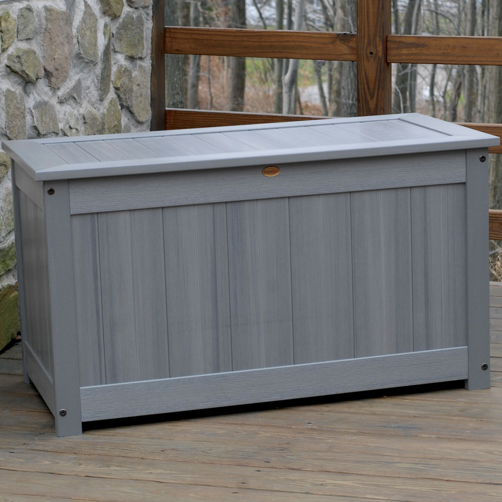 Large Deck Storage Box Image. Click Any Image To View In High Resolution