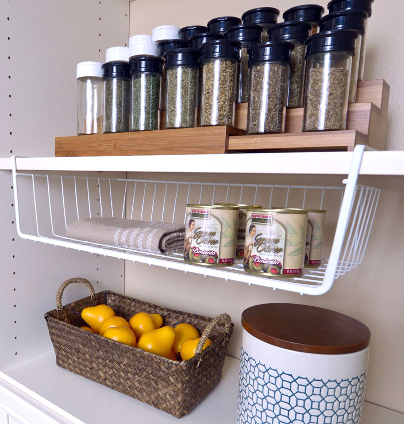 Superb 20 Inch Under Shelf Storage Basket   White Image. Click Any Image To View  In High Resolution