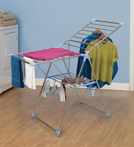 Laundry Folding Drying Rack in Laundry Drying Racks