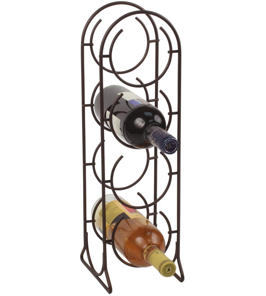 Metal Wine Bottle Holder In Wine Racks