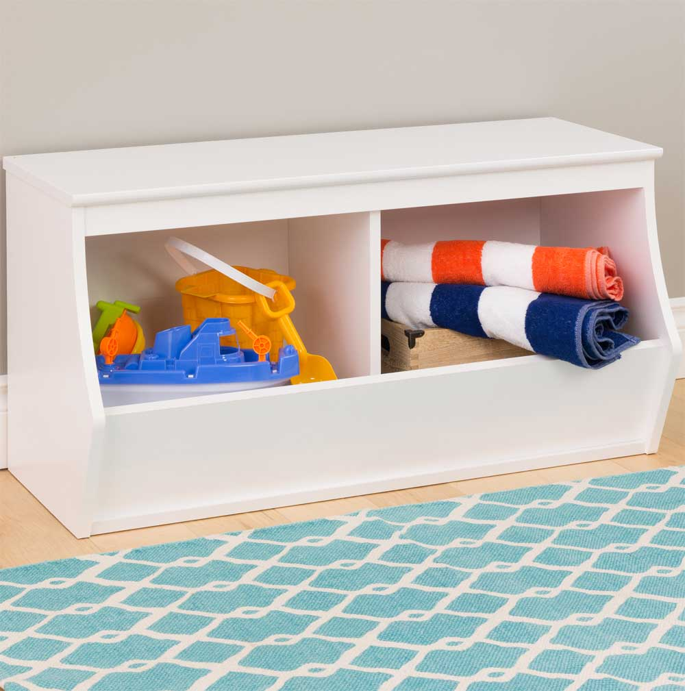 Stackable Storage Cubby   Two Bin   Monterey Image. Click Any Image To View  In High Resolution