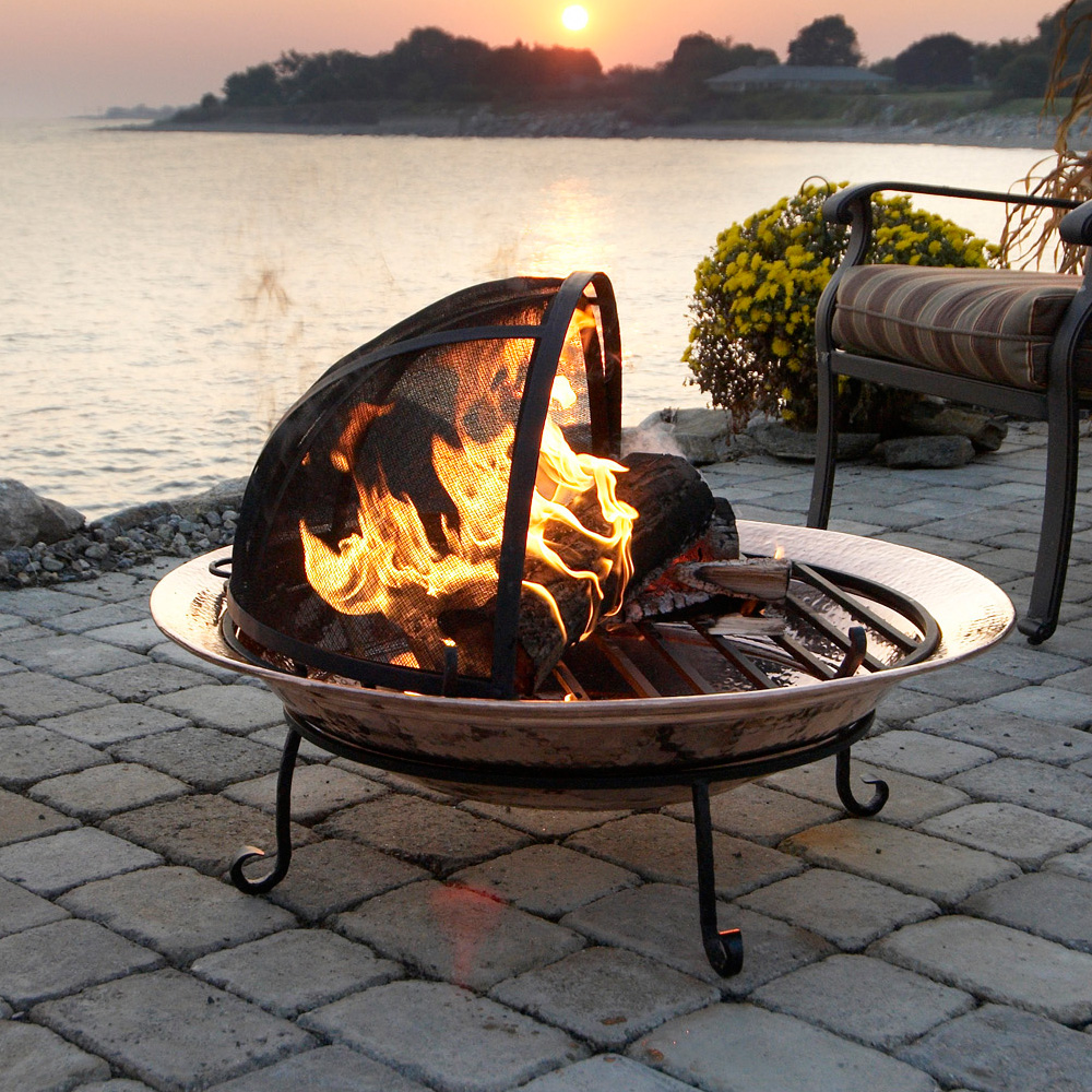 Outdoor Fire Pit Medium In Fire Pits