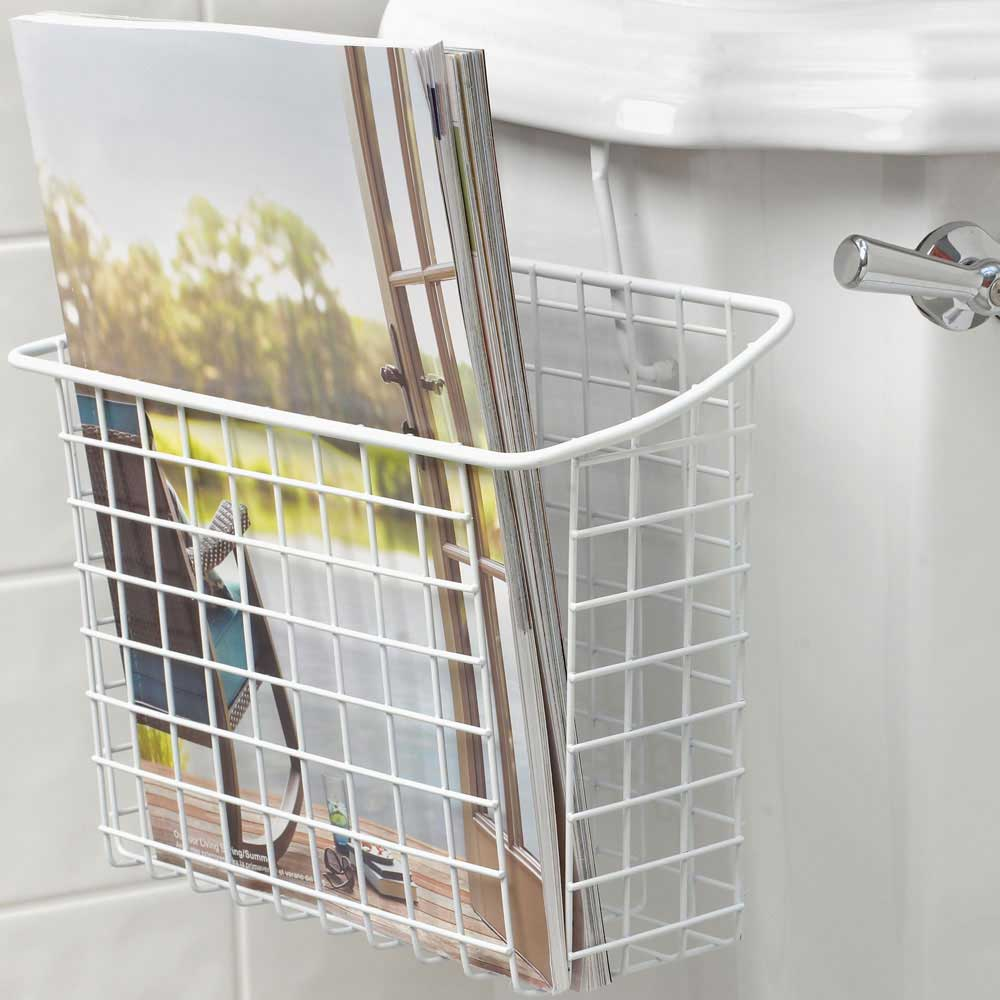 magazine small in shelves home rack corner stand storage holder wall decoration ladder acrylic sale black wood newspaper retro metal bathroom style for mounted