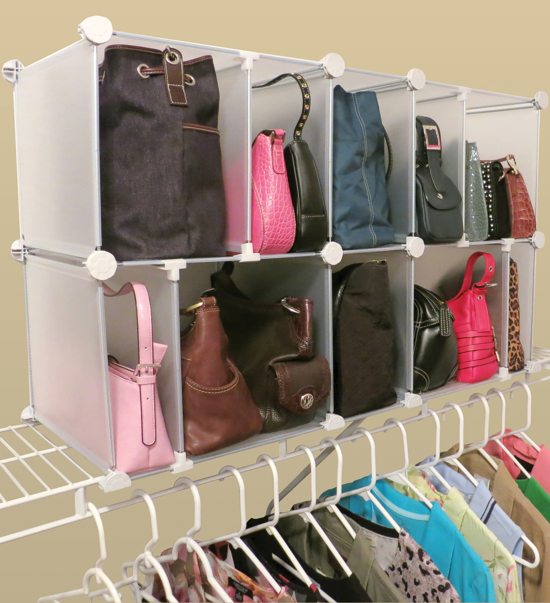 Park-A-Purse Modular Organizer in Purse Organizers