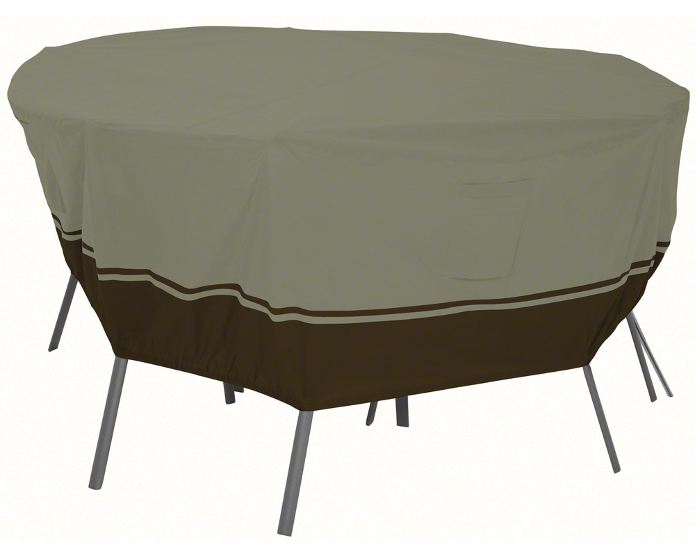 Patio furniture cover round table in patio furniture covers for Patio furniture covers