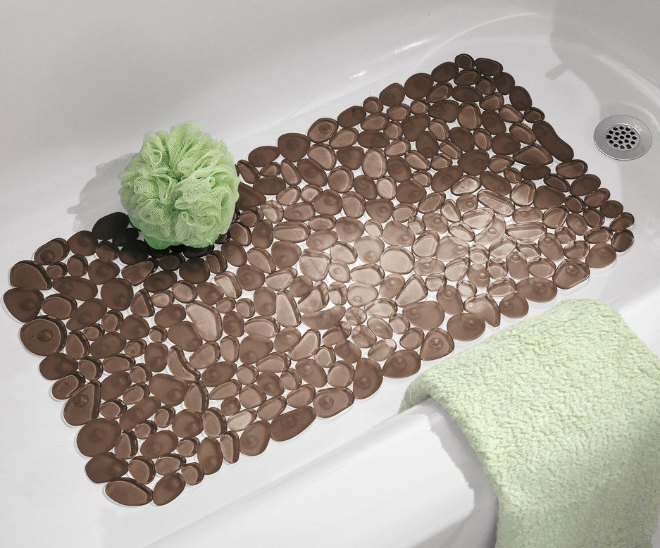 Pebble Bath Mat In Shower And Bath Mats