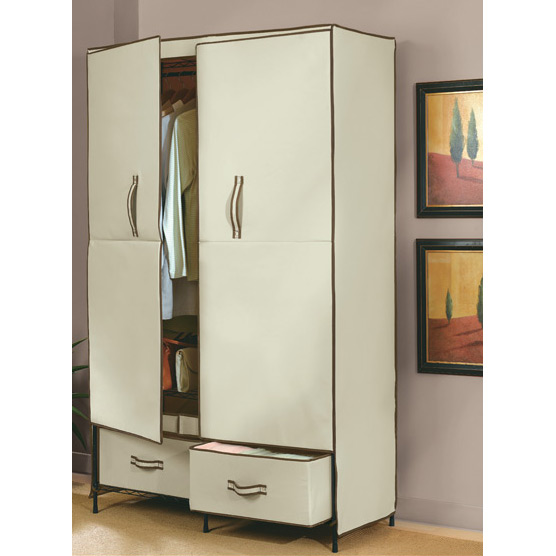 portable closet with doors 2