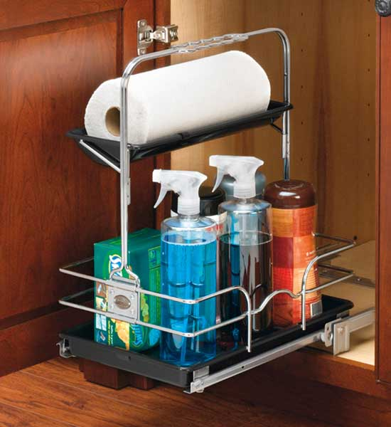 Pull Out Cabinet Organizer   Chrome Image. Click Any Image To View In High  Resolution
