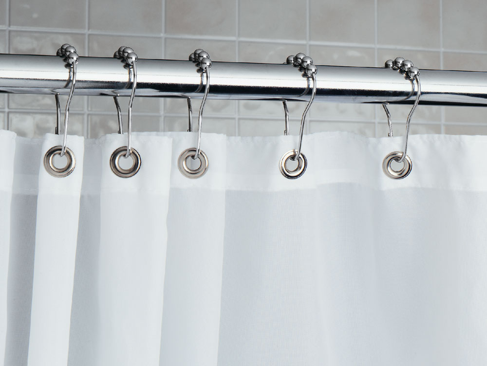 Roller Shower Curtain Rings