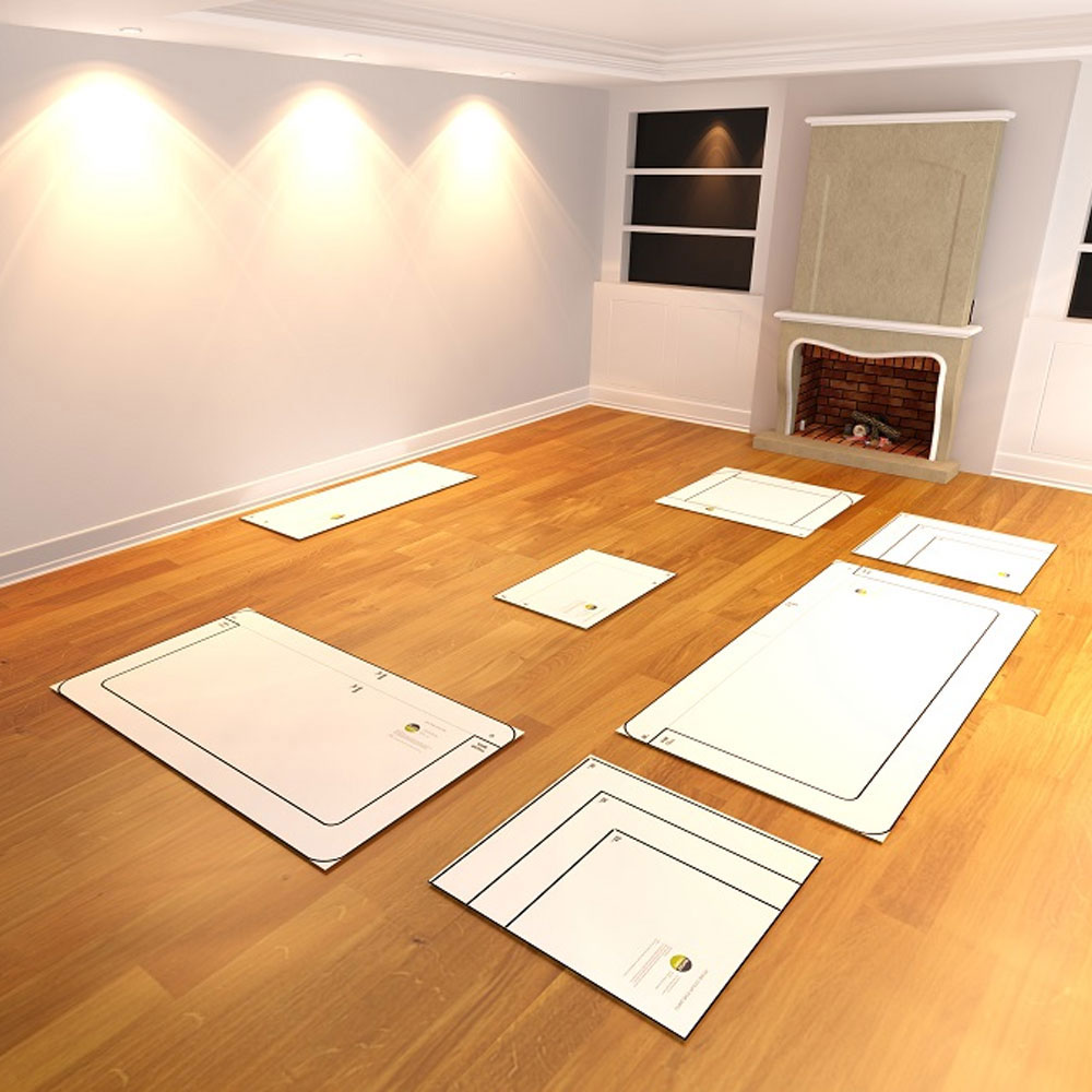 Living Room Furniture Layouts: Life Size Furniture Templates