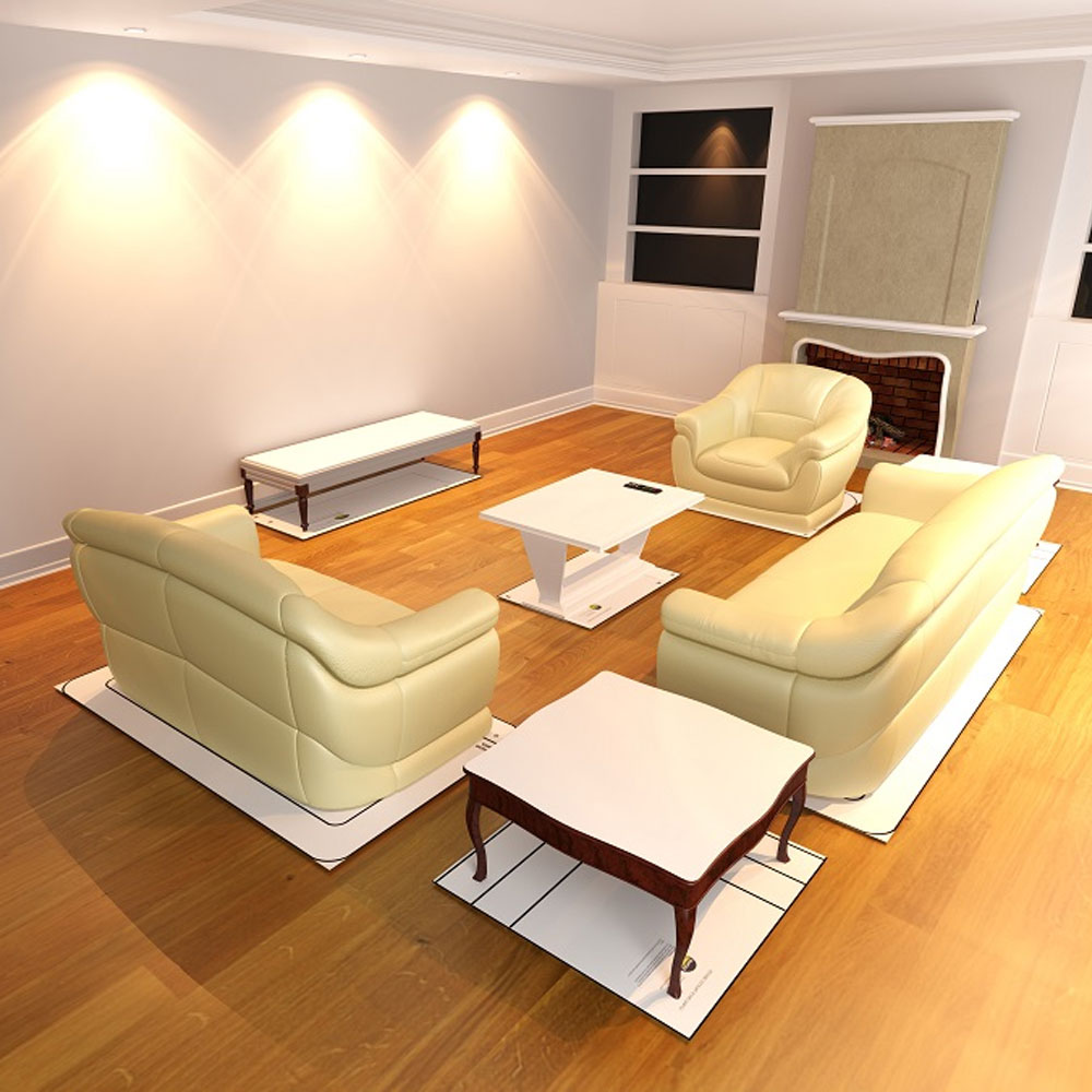 Life size furniture templates living room in furniture for Furniture placement templates free