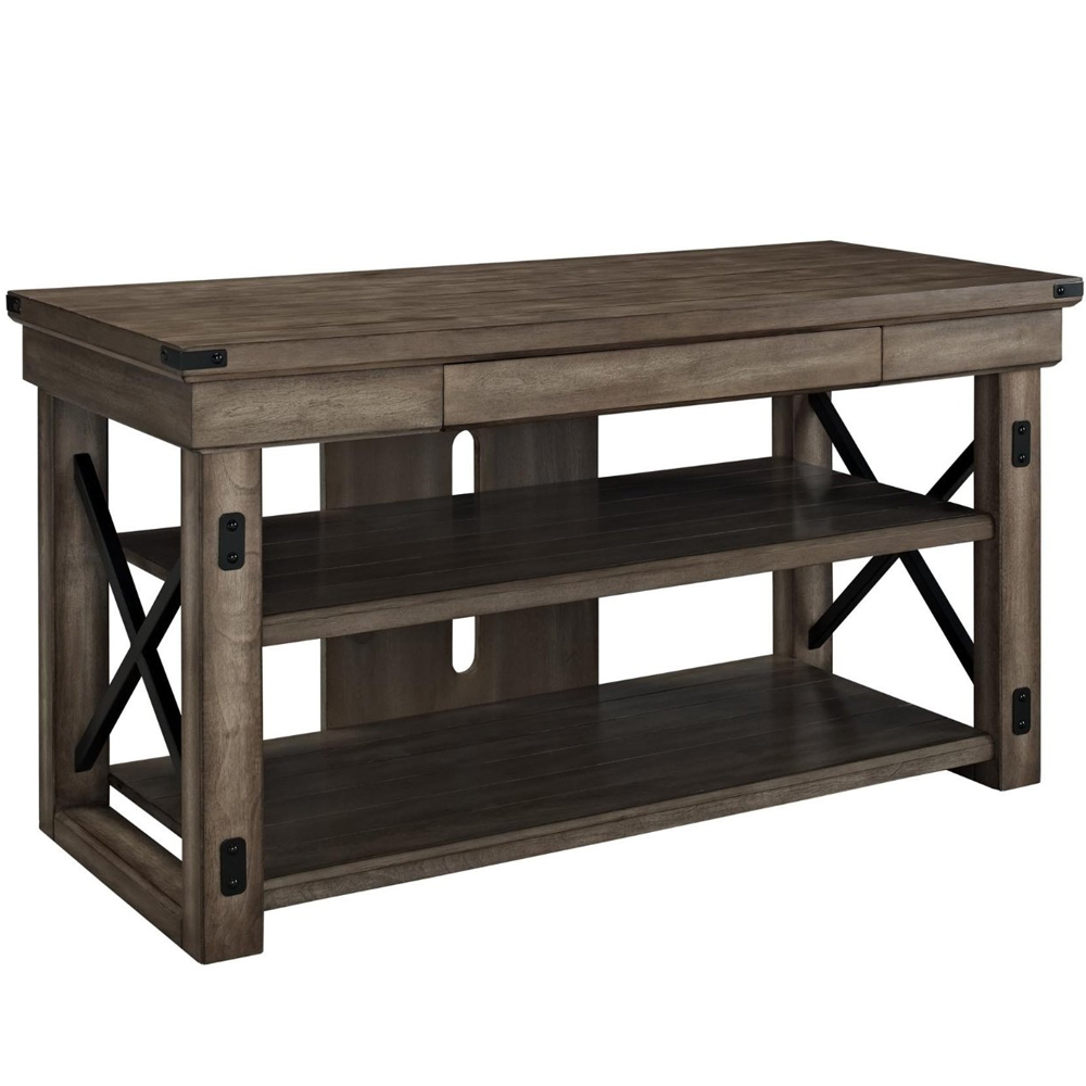 Wood Tv Stands ~ Rustic wood tv stand in stands